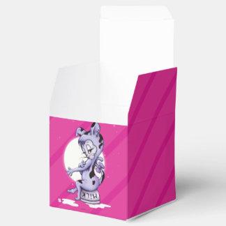 Caja clásica del favor 2x2 de SRTA. KITTY CAT Caja Para Regalo De Boda