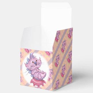 Caja clásica del favor 2x2 del CAT de CANILLO Cajas Para Regalos De Fiestas