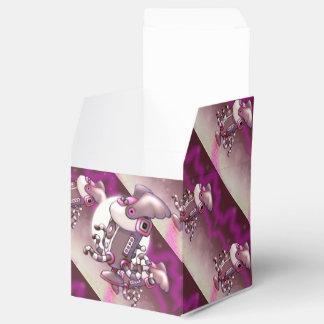 Caja clásica del favor 2x2 del ROBOT del POLVO de Cajas Para Regalos