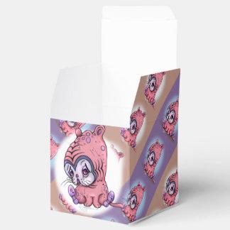 Caja clásica TRISTE LINDA del favor 2x2 del CAT de Cajas Para Regalos
