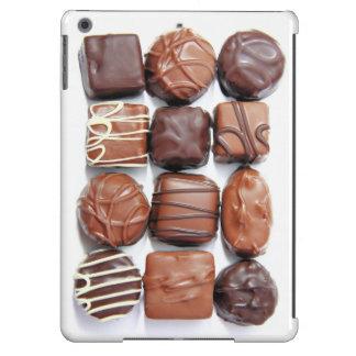 Caja clasificada del aire del iPad de los chocolat