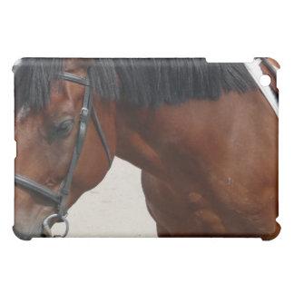 Caja clavada con tachuelas del iPad del caballo