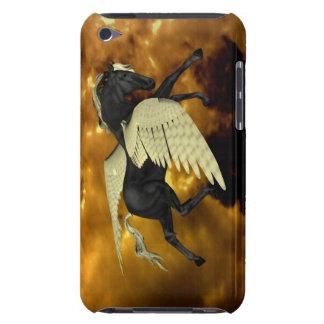 Caja coa alas de oro de Pegaso iTouch iPod Touch Case-Mate Protectores
