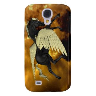 Caja coa alas de oro del iPhone 3G de Pegaso