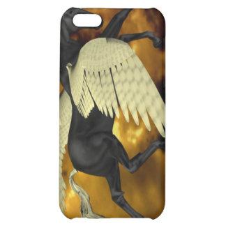 Caja coa alas de oro del iPhone 4 de Pegaso