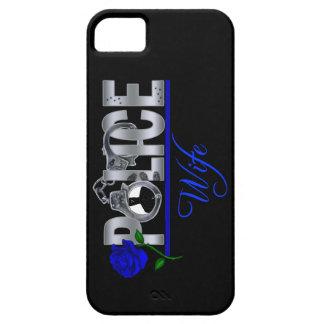 Caja color de rosa azul del iPhone 5 de la ESPOSA  iPhone 5 Case-Mate Cárcasas