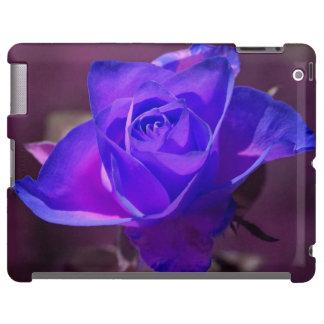 Caja color de rosa de color morado oscuro del iPad
