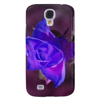 Caja color de rosa de color morado oscuro del iPho Funda Para Galaxy S4
