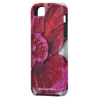 Caja color de rosa de color rojo oscuro del iPhone Funda Para iPhone SE/5/5s