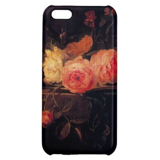 Caja color de rosa de Iphone 5 de la Aún-Vida