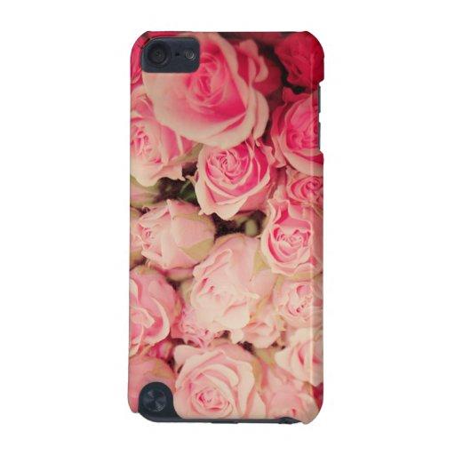 Caja color de rosa de IPod 5