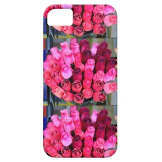 caja color de rosa de los ramos funda para iPhone SE/5/5s
