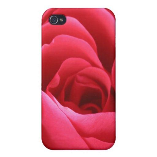 Caja color de rosa del iPhone 4 iPhone 4 Cobertura