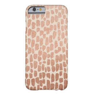 Caja color de rosa del iPhone 6/6s de los puntos Funda Para iPhone 6 Barely There