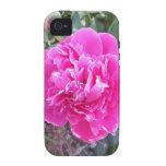 Caja color de rosa doble rosada del iPhone 4 Case-Mate iPhone 4 Carcasas