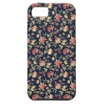 Caja color de rosa floral elegante del iPhone 5 de iPhone 5 Case-Mate Protector