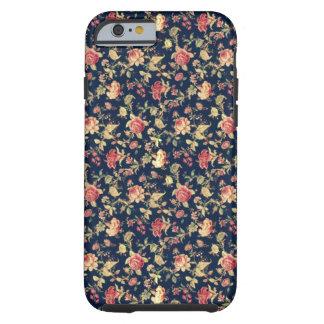 Caja color de rosa floral elegante del iPhone 6 Funda De iPhone 6 Tough