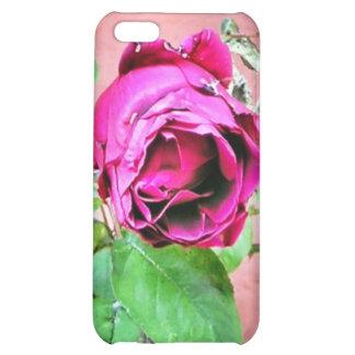 Caja color de rosa irlandesa salvaje del teléfono