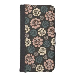 Caja color de rosa moderna de la cartera del funda tipo billetera para iPhone 5