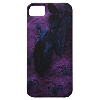 Caja color de rosa negra del iPhone 5 iPhone 5 Case-Mate Carcasa