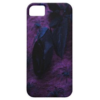 Caja color de rosa negra del iPhone 5G iPhone 5 Fundas