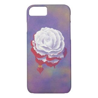 Caja color de rosa pintada del iPhone 7 Funda iPhone 7