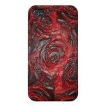 Caja color de rosa quemada del iPhone iPhone 4/4S Carcasas