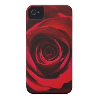 Caja color de rosa rojo oscuro del iPhone Case-Mate iPhone 4 Protectores