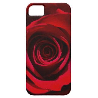 Caja color de rosa rojo oscuro del iPhone iPhone 5 Carcasa