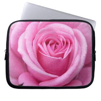 Caja color de rosa romántica de la tableta de la m fundas ordendadores