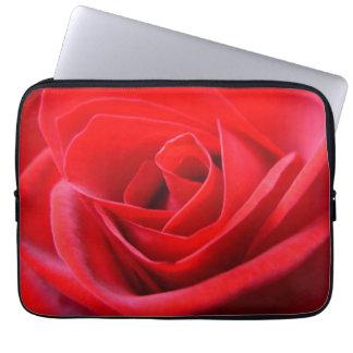 Caja color de rosa romántica de la tableta de la m manga computadora