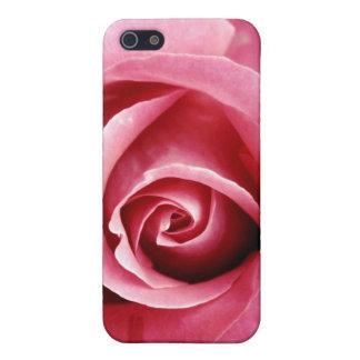 Caja color de rosa rosada de Iphone 4 iPhone 5 Carcasas