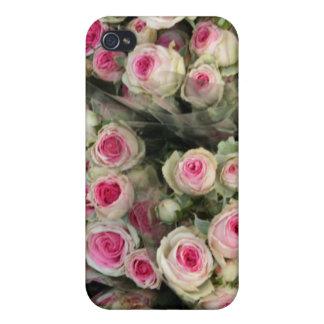 Caja color de rosa rosada de IPhone 4 iPhone 4 Carcasas