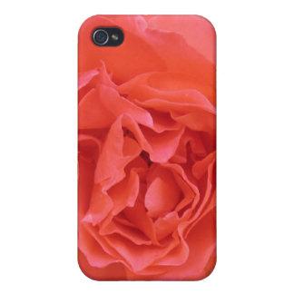 Caja color de rosa rosada de la mota para IPhone 4 iPhone 4 Cárcasa