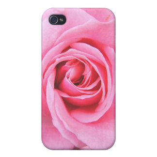 Caja color de rosa rosada del iPhone 4 de la fotog iPhone 4 Protectores