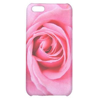 Caja color de rosa rosada del iPhone 4 de la fotog