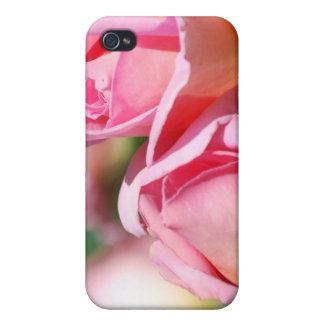 Caja color de rosa rosada del iPhone 4 del brote iPhone 4 Cárcasas