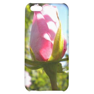 Caja color de rosa rosada del iPhone 4 del brote