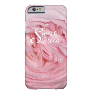 Caja color de rosa rosada del iPhone 6 del dulce Funda Barely There iPhone 6