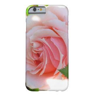 Caja color de rosa rosada del iPhone 6 Funda Para iPhone 6 Barely There