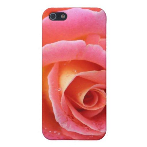 Caja color de rosa rosada del iPhone de Granada iPhone 5 Carcasas