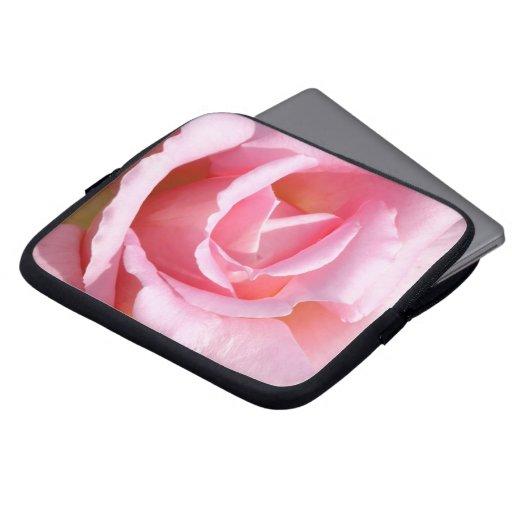 Caja color de rosa rosada del ordenador portátil fundas ordendadores