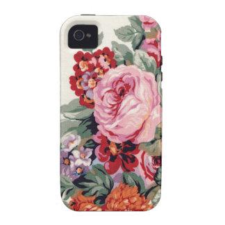 Caja color de rosa rosada grande del iPhone 4 Vibe iPhone 4 Funda