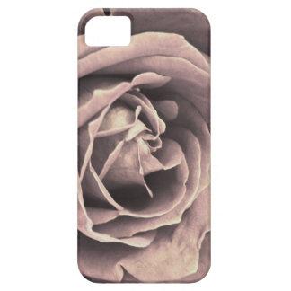Caja color de rosa rosada rústica del iPhone iPhone 5 Case-Mate Cárcasa