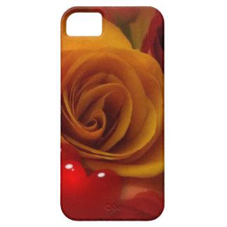 Caja color de rosa y de los corazones del iPhone 5 Funda Para iPhone SE/5/5s