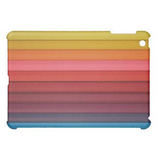 Caja coloreada brillante del iPad de los lápices d