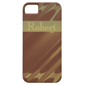 Caja coloreada cobre elegante del iPhone 5 Funda Para iPhone SE/5/5s