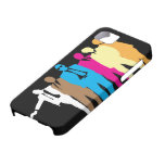 Caja coloreada del iPhone 5 de los perros iPhone 5 Carcasas
