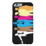 Caja coloreada del iPhone 6 de los perros Funda De iPhone 6 Barely There