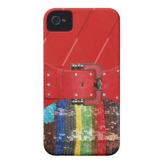Caja coloreada multi de las lentejuelas y de los d Case-Mate iPhone 4 funda